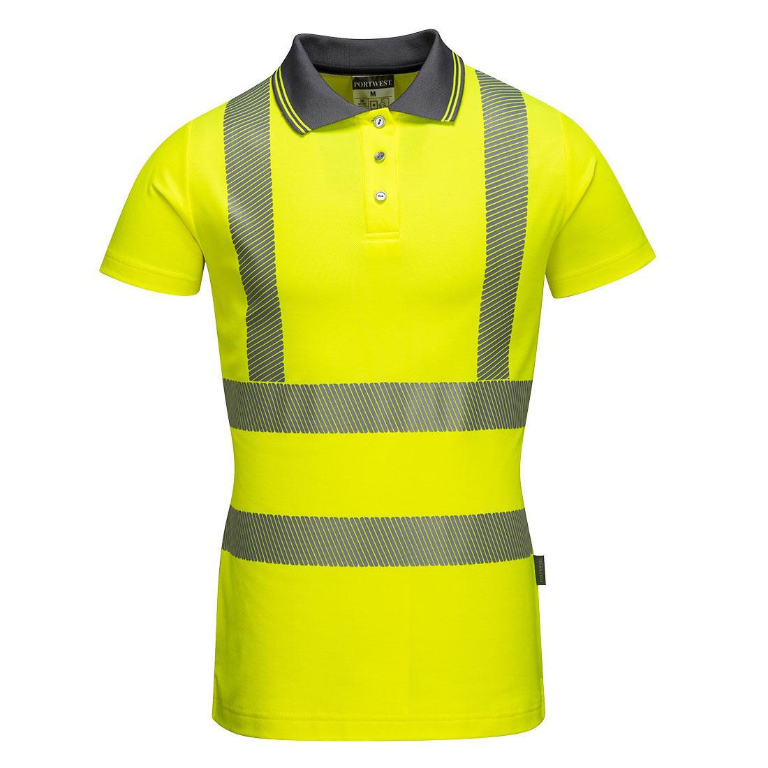 31abd2a77d Portwest Női Pro pólóing sárga
